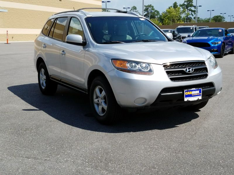Silver 2007 Hyundai Santa Fe GLS For Sale in Mobile, AL