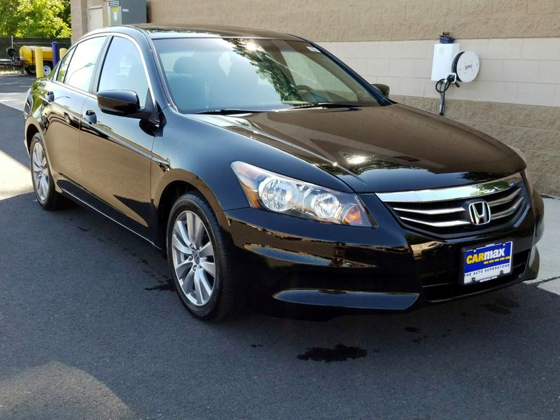 Black2012 Honda Accord EX