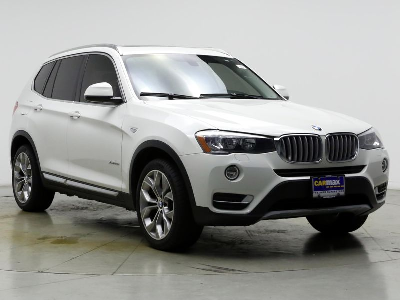 White2016 BMW X3 XDrive28D