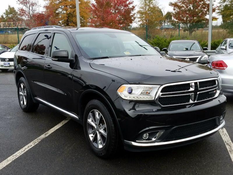 Black2016 Dodge Durango Limited