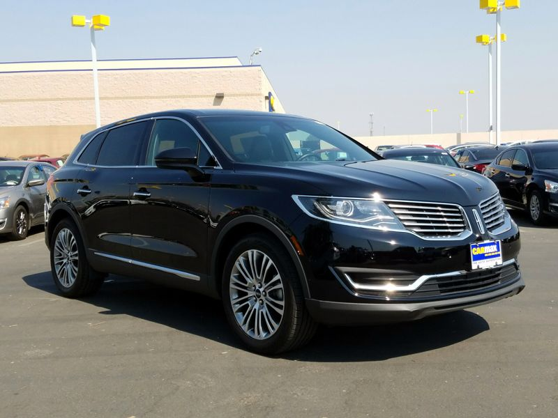 Black2016 Lincoln MKX Reserve