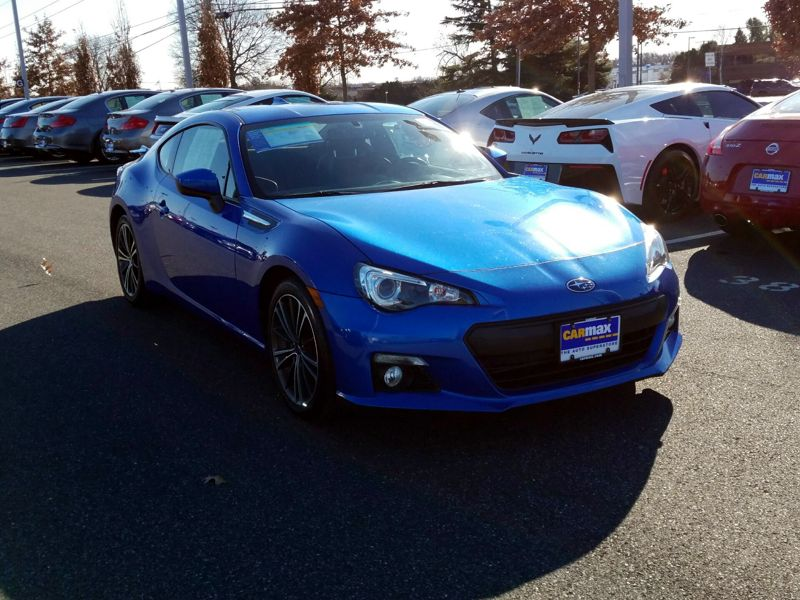Blue2014 Subaru BRZ Limited