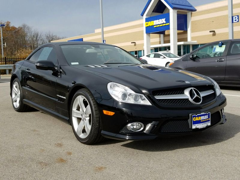 Black 2009 Mercedes-Benz SL550 For Sale in Jackson, TN