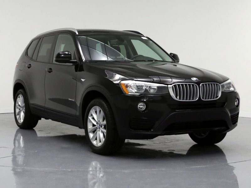 Black2017 BMW X3 SDrive28i