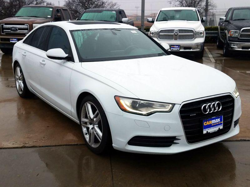 White2015 Audi A6 Premium