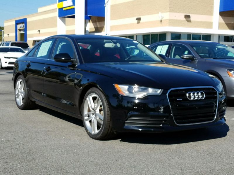Black 2015 Audi A6 Premium For Sale in Myrtle Beach, SC