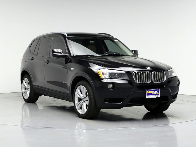 Black2012 BMW X3 XDrive35i