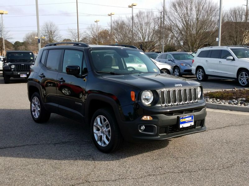 Black2017 Jeep Renegade Latitude