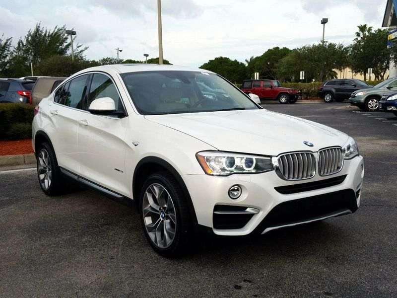 White2015 BMW X4 XDrive28i