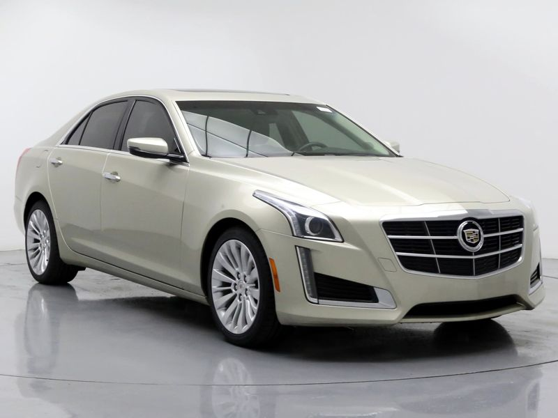 Gold2014 Cadillac CTS Luxury