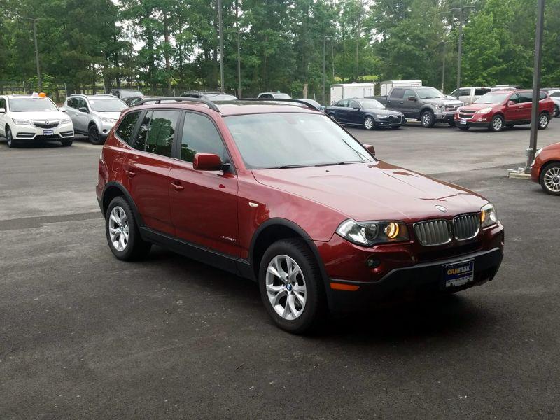 Red2009 BMW X3 XDrive30i