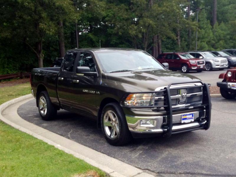 Green 2012 Dodge Ram 1500 Bighorn For Sale in Richmond, VA