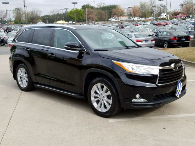 Black2015 Toyota Highlander Limited Platinum