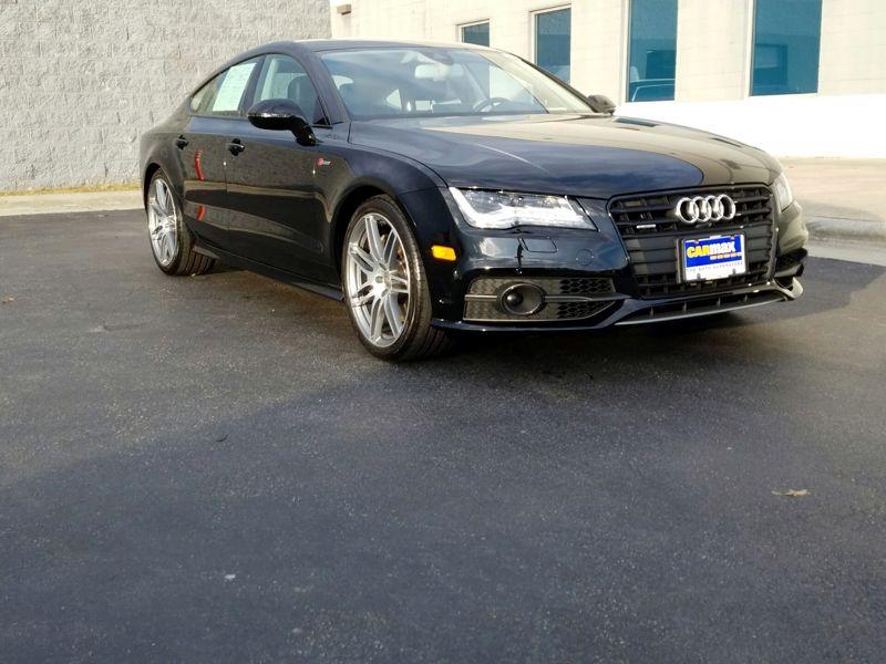 Black2014 Audi A7 Prestige