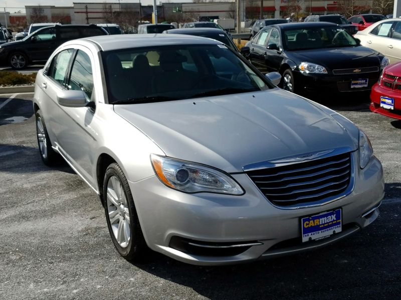 Silver2012 Chrysler 200 Touring