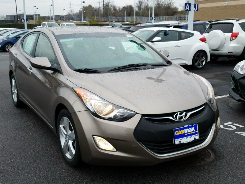 Brown 2013 Hyundai Elantra GLS For Sale in Frederick, MD