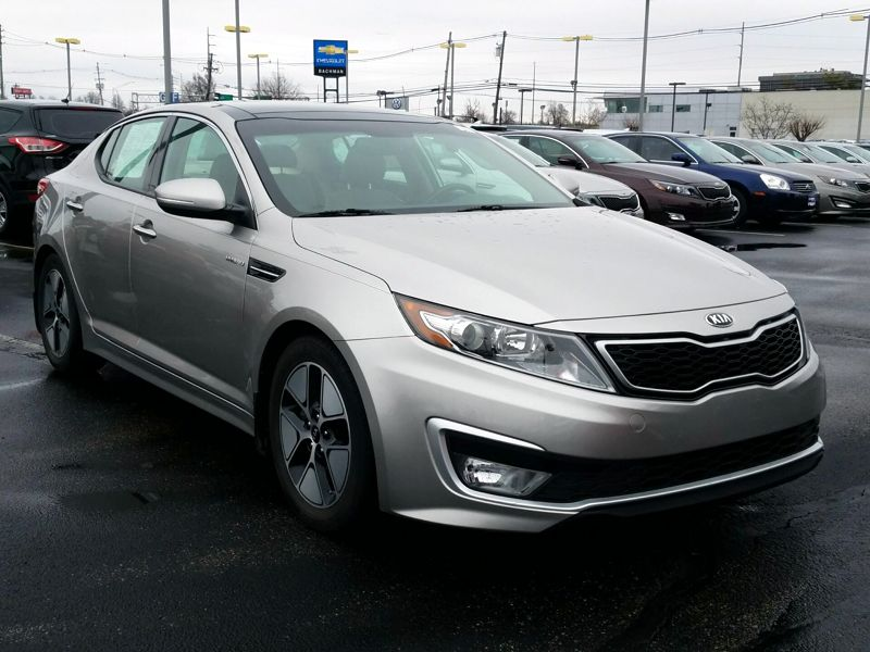Gold2013 Kia Optima Hybrid EX
