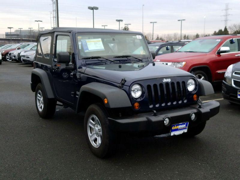 Blue2013 Jeep Wrangler Sport