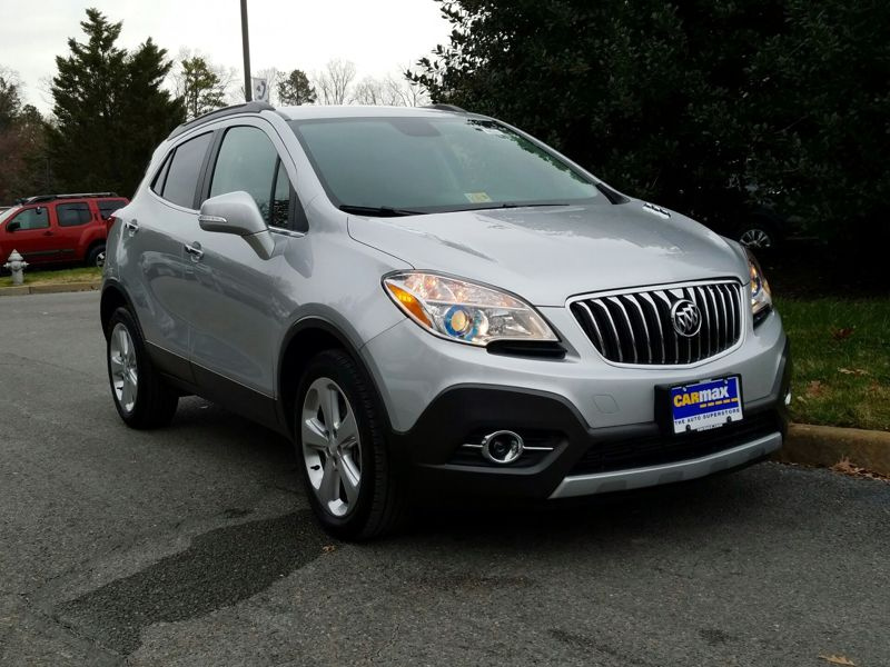 Silver2015 Buick Encore Leather