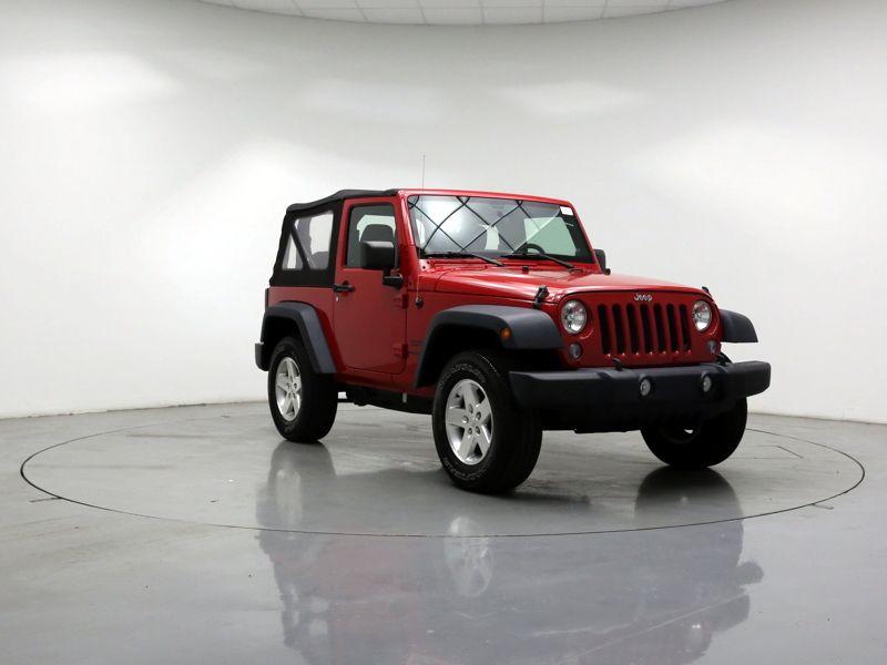 Red2014 Jeep Wrangler Sport