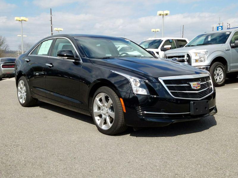 Black2016 Cadillac ATS Luxury