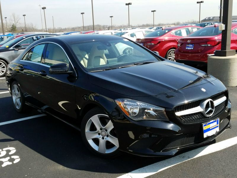 Black2015 Mercedes-Benz CLA250