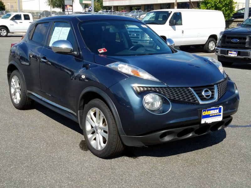 Blue 2012 Nissan Juke SV For Sale in Cranston, RI