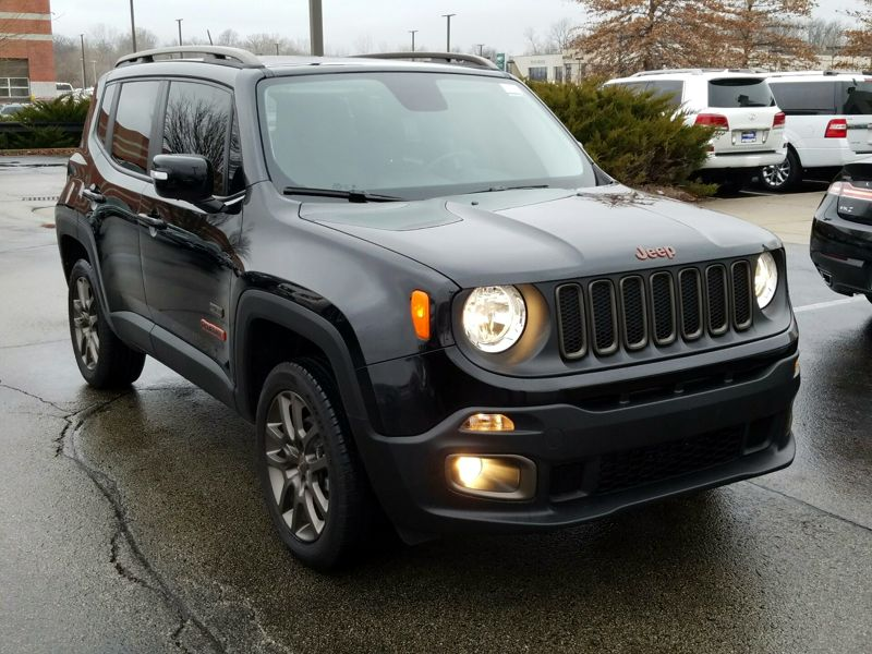 Black2016 Jeep Renegade 75th Anniversary Edition