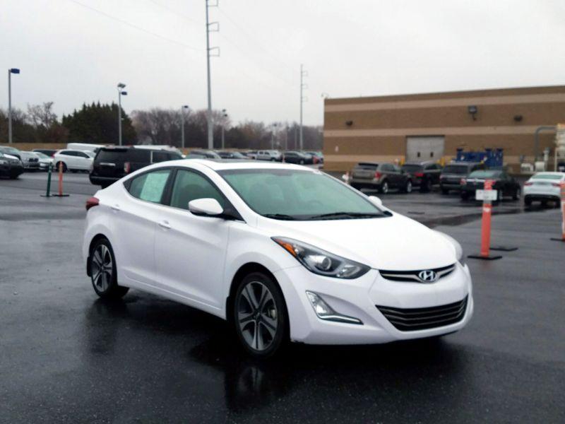 White2015 Hyundai Elantra Sport