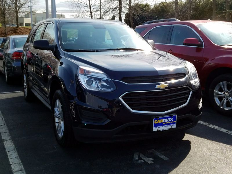 Blue2016 Chevrolet Equinox LS