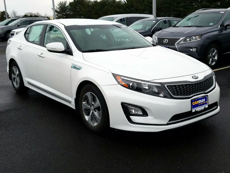 White2014 Kia Optima Hybrid LX