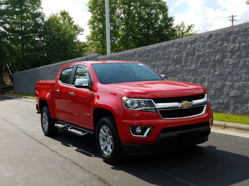 Red 2015 Chevrolet Colorado LT For Sale in Woodbridge, VA