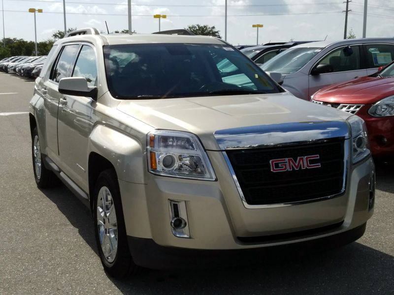 Gold 2014 GMC Terrain SLT For Sale in Ft. Myers, FL