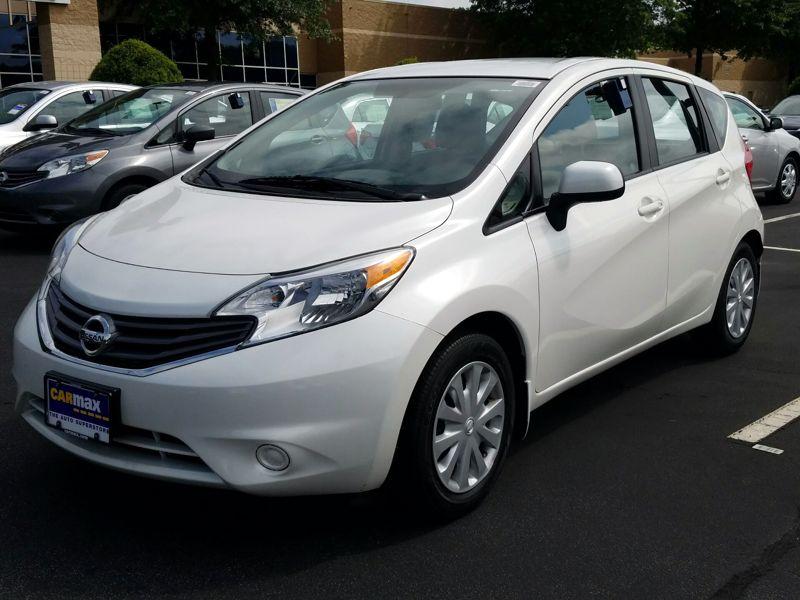 White 2014 Nissan Versa Note SV For Sale in Atlanta, GA