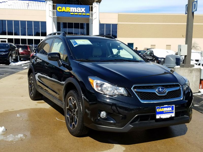 Black2015 Subaru XV Crosstrek Limited