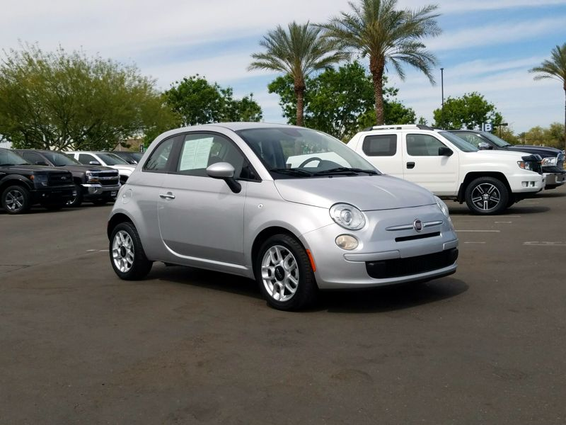 Silver 2014 Fiat 500 Pop For Sale in Santa Fe, NM