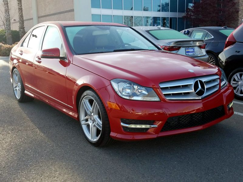 Red2013 Mercedes-Benz C250 Sport