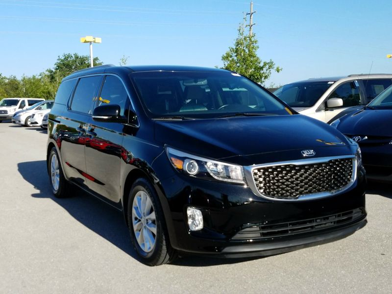 Black 2015 Kia Sedona EX For Sale in Naples, FL