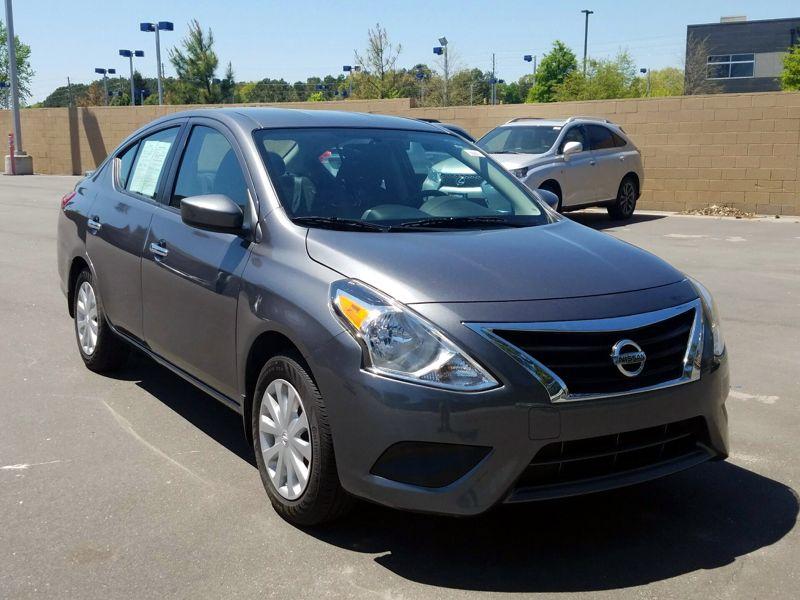 Gray2016 Nissan Versa SV