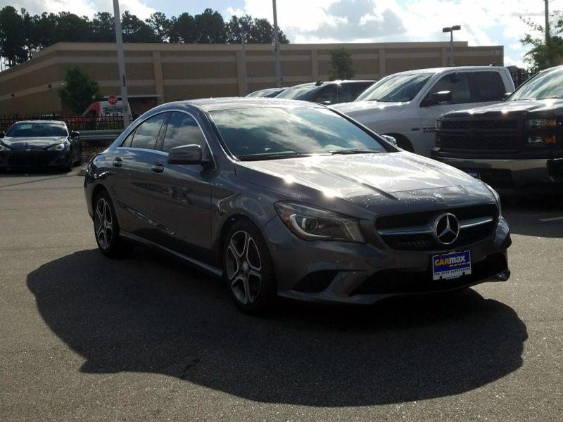 Gray 2014 Mercedes-Benz CLA250 For Sale in Laurel, MD