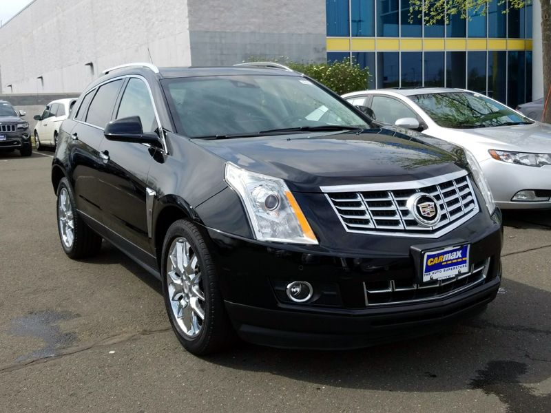 Black 2015 Cadillac SRX Premium For Sale in Waterbury, CT