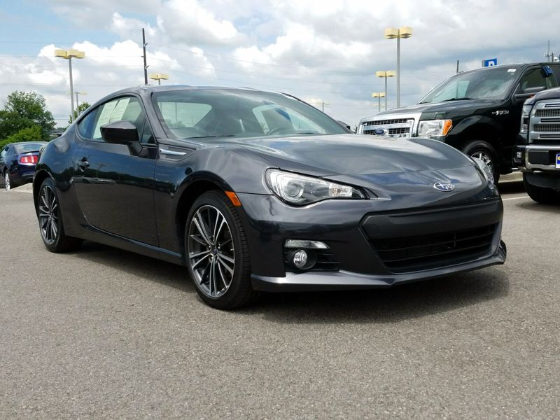Gray2016 Subaru BRZ Limited