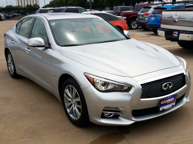 Silver 2016 Infiniti Q50 For Sale in Houston, TX