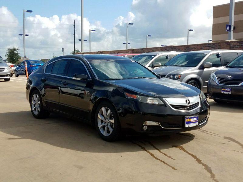 Black 2012 Acura TL For Sale in Houston, TX