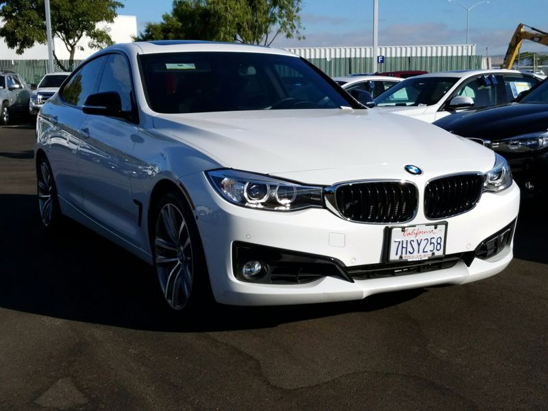 White 2015 BMW 335 XI Gran Turismo For Sale in Fremont, CA