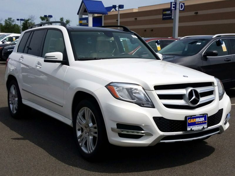 White 2014 Mercedes-Benz GLK250 For Sale in Newark, DE