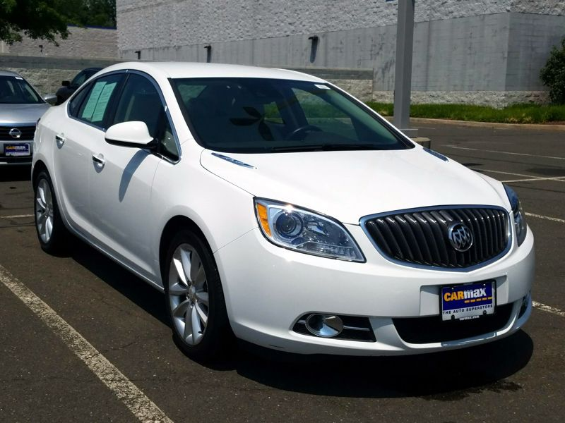 White 2014 Buick Verano Convenience For Sale in Cranston, RI