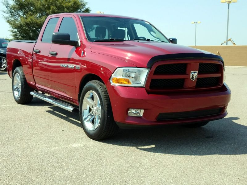 Red 2012 Dodge Ram 1500 ST For Sale in Fort Worth, TX