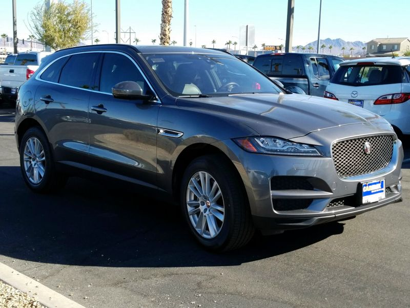 Gray 2017 Jaguar F-Pace Prestige For Sale in Las Vegas, NV
