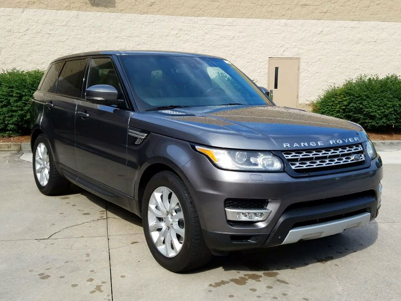 Gray 2015 Land Rover Range Rover Sport HSE For Sale in Town Center, GA